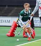 AMSTELVEEN -   Justen Blok (R'dam)   tijdens de hoofdklasse competitiewedstrijd heren, AMSTERDAM-ROTTERDAM (2-2). COPYRIGHT KOEN SUYK
