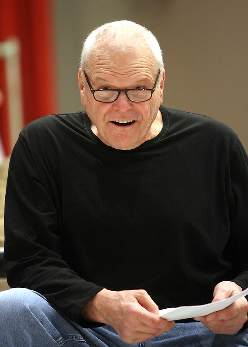 Brian Dennehy takes a break from rehearsing Desire Under the Elms at the Goodman Theatre. 2009