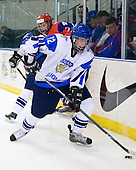 (Pakarinen, Kalashnikov) Erik Haula (Finland - 12) - Russia defeated Finland 4-0 at the Urban Plains Center in Fargo, North Dakota, on Friday, April 17, 2009, in their semi-final match during the 2009 World Under 18 Championship.
