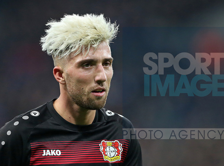Leverksen's Kevin Kampl in action during the Champions League group E match at the Wembley Stadium, London. Picture date November 2nd, 2016 Pic David Klein/Sportimage