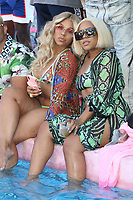 LOS ANGELES, CA - JUNE 30: Ashanti and sister Shia at the PrettyLittleThing X Ashanti Launch event at the Hollywood Roosevelt Hotel in Los Angeles, California on June 30, 2019. <br /> CAP/MPI/WG<br /> ©WG/MPI/Capital Pictures