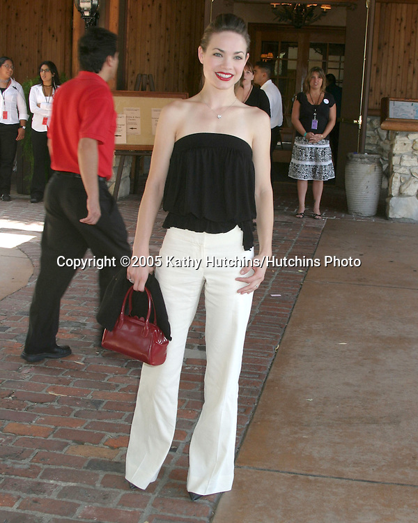 Rebecca Herbst.General Hospital Fan Club Luncheon.Sportsman's Lodge.Studio City, CA.July 16, 2005.©2005 Kathy Hutchins / Hutchins Photo