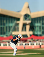 Shane Lowry (IRL) during the 2nd round of the Abu Dhabi HSBC Championship, Abu Dhabi Golf Club, Abu Dhabi,  United Arab Emirates. 17/01/2020<br /> Picture: Oisin Keniry   Golffile<br /> <br /> <br /> All photo usage must carry mandatory copyright credit (© Golffile   Oisin Keniry)