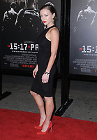"05 February 2018 - Burbank, California - Francesa Eastwood. ""The 15:17 To Paris"" Los Angeles Premiere held at Warner Bros. Studios, SJR Theater. Photo Credit: Birdie Thompson/AdMedia"