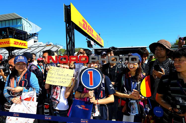 11. 13.10.2013, Suzuka International Racing Course, Suzuka, JPN, F1, Grosser Preis von Japan, Suzuka, im Bild  DHL Branding - Japanese GP Impressions<br /> for Austria &amp; Germany Media usage only!<br />  Foto &copy; nph / Mathis