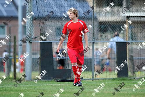 2012-08-16 / Voetbal / seizoen 2012-2013 / KFC Sint-Job / Olivier Bontemps..Foto: Mpics.be