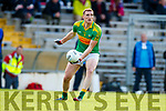 Brendan O'Sullivan South Kerry in action against  Kerins O'Rahillys in the Kerry Senior Football Championship Semi Final at Fitzgerald Stadium on Saturday.