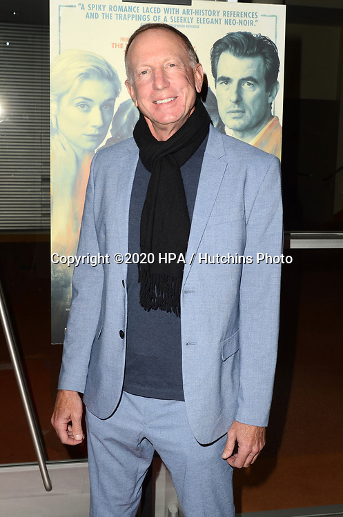 """LOS ANGELES - MAR 2:  David Lancaster at the """"The Burnt Orange Heresy"""" Special Screening at the Linwood Dunn Theater on March 2, 2020 in Los Angeles, CA"""