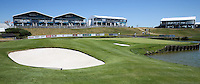 View of the amphitheatre on the 18th during the preview days of the 2015 Alstom Open de France, played at Le Golf National, Saint-Quentin-En-Yvelines, Paris, France. /30/06/2015/. Picture: Golffile | David Lloyd<br /> <br /> All photos usage must carry mandatory copyright credit (&copy; Golffile | David Lloyd)
