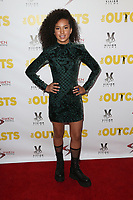"13 April 2017 - Los Angeles, California - Sofia Wylie. Premiere Of Swen Group's ""The Outcasts"" held at the Landmark Regent."