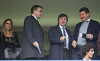 Watford Owner Gino Pozzo (2nd right) during the Premier League match between Chelsea and Watford at Stamford Bridge, London, England on 21 October 2017. Photo by Andy Rowland.
