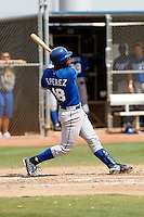 Salvador Perez - Kansas City Royals - 2009 spring training.Photo by:  Bill Mitchell/Four Seam Images