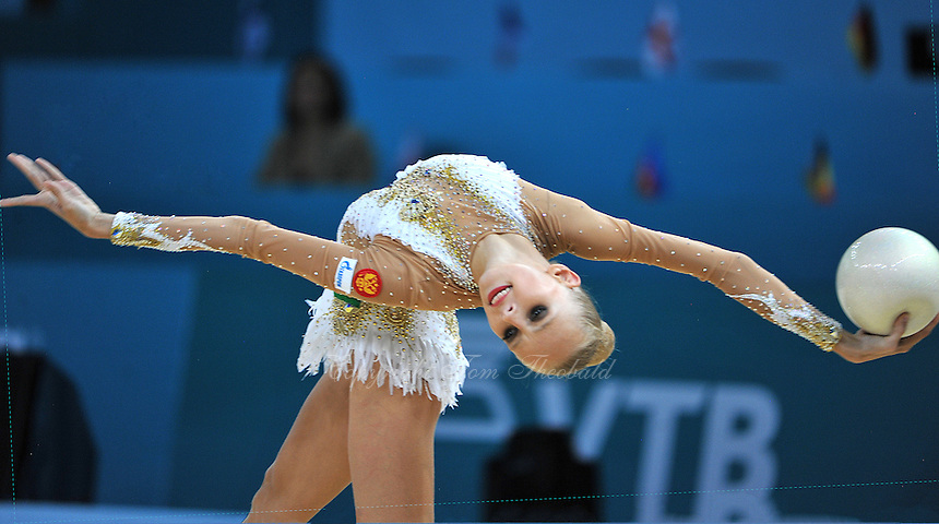 August 30, 2013 - Kiev, Ukraine - YANA KUDRYAVTSEVA of Russia performs at 2013 World Championships.