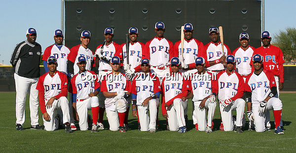 Dominican Prospect League all-stars Red Team 2012 minor league spring training (Bill Mitchell)
