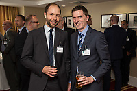 Ian Whiley of Swindell & Pearson (left)  and Mark Saxby of Status Social