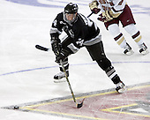 Matt Taormina  The Boston College Eagles defeated the Providence College Friars 3-2 in regulation on October 29, 2005 at Kelley Rink in Conte Forum in Chestnut Hill, MA.  It was BC's first Hockey East win of the season and Providence's first HE loss.