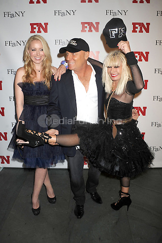 Patricia Field and Steve Madden attending the 25th Annual Footwear News Achievement Awards at the Museum of Modern Art on November 29, 2011 in New York City. Credit: Dennis Van Tine/MediaPunch