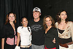 "AMC's Jeff Branson starring My Life As You is joined by Connie Fletcher ""Erin Lavery"", Terri Ivens ""Simone Torres"", Susan Lucci ""Erika Kane"",  Eden Riegel ""Bianca Montgomery"" and Chrishell Stause on September 15, 2006 at the Producers Club II, NYC.  (Photo by Sue Coflin/Max Photos)"