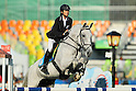 Natsumi Tomonaga (JPN), <br /> AUGUST 19, 2016 - Modern Pentathlon : <br /> Women's Riding <br /> at Deodoro Stadium <br /> during the Rio 2016 Olympic Games in Rio de Janeiro, Brazil. <br /> (Photo by YUTAKA/AFLO SPORT)