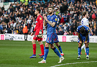 Bolton Wanderers' Mark Beevers applauds his side's travelling supporters at the end of the match<br /> <br /> Photographer Andrew Kearns/CameraSport<br /> <br /> The EFL Sky Bet Championship - Leeds United v Bolton Wanderers - Saturday 23rd February 2019 - Elland Road - Leeds<br /> <br /> World Copyright © 2019 CameraSport. All rights reserved. 43 Linden Ave. Countesthorpe. Leicester. England. LE8 5PG - Tel: +44 (0) 116 277 4147 - admin@camerasport.com - www.camerasport.com