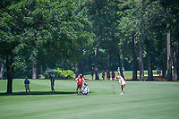 Michelle Wie (USA) hits her approach shot on 2 during round 4 of the U.S. Women's Open Championship, Shoal Creek Country Club, at Birmingham, Alabama, USA. 6/3/2018.<br /> Picture: Golffile | Ken Murray<br /> <br /> All photo usage must carry mandatory copyright credit (&copy; Golffile | Ken Murray)