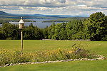 Birdhouse with view of Moosehead Lake, ME. The Inn At Moosehead, Lily Bay Road.
