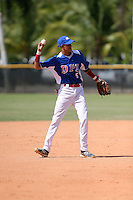 Elwin Tejeda participates in the Dominican Prospect League 2014 Louisville Slugger Tournament at the New York Yankees academy in Boca Chica, Dominican Republic on January 20-21, 2014 (Bill Mitchell)
