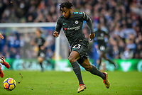 Michy Batshuayi of Chelsea (23)  during the Premier League match between Brighton and Hove Albion and Chelsea at the American Express Community Stadium, Brighton and Hove, England on 20 January 2018. Photo by Edward Thomas / PRiME Media Images.
