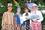 Winners: Taking part in the Feile Lúghnasa festival parade last Sunday evening were l-r: Frank Houlihan, Catriona Johnston, Eithne Griffin and Mary Jo Murphy who all won prizes for their dress concepts.