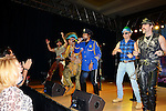 HOLLYWOOD, FL - OCTOBER 25:Jim Newman, Felipe Rose, Ray Simpson, Bill Whitefield and Eric Anzalone of The Village People perfoms at the 13th Annual Footy's Bubbles & Bones Gala at Westin Diplomat Resort and Spa on October 25, 2013 in Hollywood, Florida. (Photo by Johnny Louis/jlnphotography.com)
