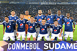 Millonarios igualó 0-0 (0-0 en el global y 3-5 en penales) ante Independiente Santa Fe. Octavos de final Conmebol Sudamericana 2018.