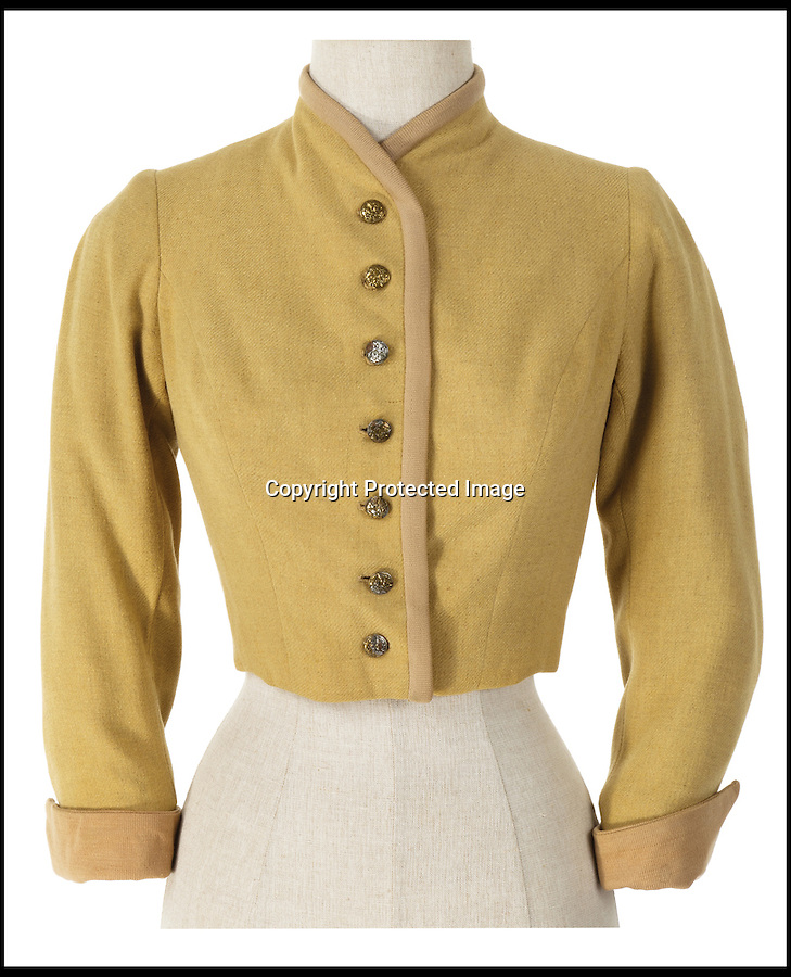BNPS.co.uk (01202) 558833<br /> Picture: ProfilesInHistory/BNPS<br /> <br /> ****Please use full byline****<br /> <br /> Von Trapp childrens costume.<br /> <br /> A set of iconic costumes worn by singing family the Von Trapps in hit film The Sound of Music has emerged for sale for £150,000.<br /> <br /> The collection includes 14 outfits from the celebrated 1965 musical which starred Brit Julie Andrews as a nun who teaches the children of a widowed Navy officer to sing.<br /> <br /> The highlight of the set is a uniform worn by Christopher Plummer as Captain Georg Von Trapp in famed songs 'So Long, Farewell' and 'Edelweiss'.<br /> <br /> Also included are five of the seven Von Trapp children's outfits from the same numbers and two capes worn by the children in 'Climb Ev'ry Mountain'.
