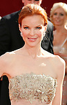 LOS ANGELES, CA. - September 21: Actress Marcia Cross arrives at the 60th Primetime Emmy Awards at the Nokia Theater on September 21, 2008 in Los Angeles, California.