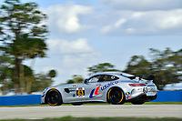 IMSA Continental Tire SportsCar Challenge<br /> Sebring February Test<br /> Sebring International Raceway, Sebring, Florida, USA<br /> Wednesday 21 February 2018<br /> #63 DXDT Racing, Mercedes-AMG, GS: David Askew, Aaron Povoledo<br /> World Copyright: Richard Dole<br /> LAT Images