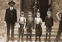"Historical Views:  Lewis Hine Photograph  ""Gastonia, North Carolina, Nov. 1908"".   Photo '78.  Reference only."