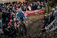 Arno Debeir (BEL/U23)<br /> <br /> Men's race<br /> Superprestige Asper-Gavere 2018 (BEL)