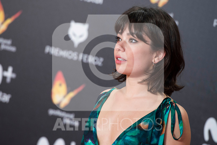 Anna Castillo attends red carpet of Feroz Awards 2018 at Magarinos Complex in Madrid, Spain. January 22, 2018. (ALTERPHOTOS/Borja B.Hojas)