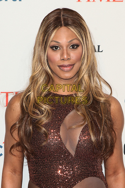 NEW YORK, NY -  APRIL 29: Laverne Cox attends the TIME 100 Gala, TIME's 100 most influential people in the world, at Jazz at Lincoln Center on April 29, 2014 in New York City. <br /> CAP/MPI/COR<br /> &copy;Corredor99/ MediaPunch/Capital Pictures