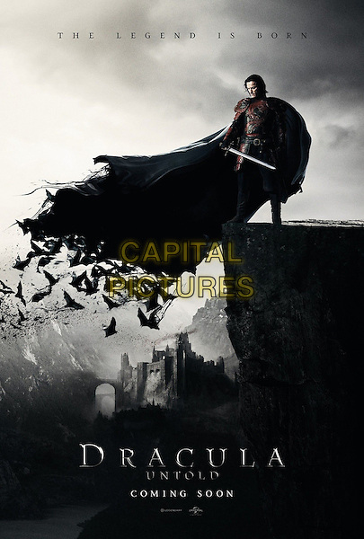 POSTER ART<br /> in Dracula Untold (2014) <br /> *Filmstill - Editorial Use Only*<br /> CAP/FB<br /> Image supplied by Capital Pictures