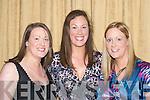 ENJOYING: Aoife, Aine and Maire Cronin, Killarney, enjoying the Dr Crokes GAA Club Social in The Dromhall Hotel, Killarney, last Sunday night..