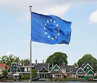 Nederland Zaanstad  2017 -    Vlag van Europa.  Foto Berlinda van Dam / Hollandse Hoogte