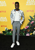 "01 August 2019 - Los Angeles, California - Bernard David Jones. Netflix's ""Dear White People"" Season 3 Los Angeles Premiere held at TRegal Cinemas LA Live. Photo Credit: Birdie Thompson/AdMedia"