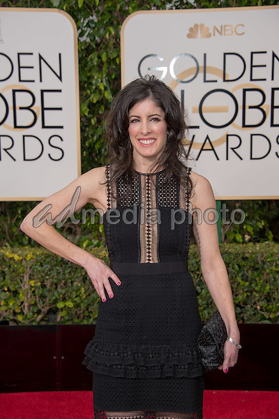 "Maril Davis, Co-Executive Producer  of ""Outlander"", Golden Globe nominee for BEST TELEVISION SERIES - DRAMA,  arrives at the 73rd Annual Golden Globe Awards at the Beverly Hilton in Beverly Hills, CA on Sunday, January 10, 2016. Photo Credit: HFPA/AdMedia"