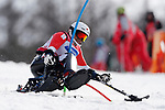 Taiki Morii (JPN),<br /> MARCH 17, 2018 - Alpine Skiing : <br /> Men's Slalom Sitting Run2 <br /> at Jeongseon Alpine Centre  <br /> during the PyeongChang 2018 Paralympics Winter Games in Pyeongchang, South Korea. <br /> (Photo by Sho Tamura/AFLO SPORT)