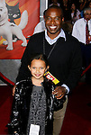 "HOLLYWOOD, CA. - November 17: Actor Phil Lewis and son arrive at the World Premiere of Walt Disney's ""Bolt"" at the El Capitan Theatre on November 17, 2008 in Hollywood, California..."