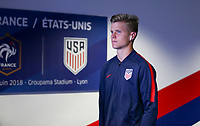 Lyon, France - Saturday June 09, 2018: Keaton Parks during an international friendly match between the men's national teams of the United States (USA) and France (FRA) at Groupama Stadium.