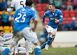 St Johnstone v Celtic.....14.02.15<br /> Michael O'Halloran gets a goal back for saints<br /> Picture by Graeme Hart.<br /> Copyright Perthshire Picture Agency<br /> Tel: 01738 623350  Mobile: 07990 594431