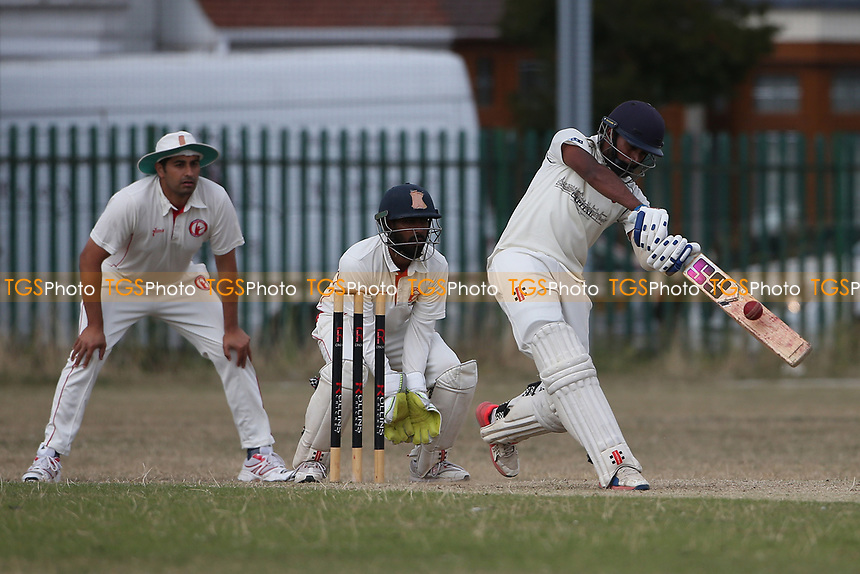 lford hit the winning runs during Frenford CC vs Ilford CC (batting), Essex Cricket League Cricket at the Jack Carter Centre on 1st August 2020