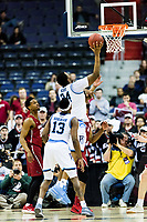 Washington, DC - MAR 10, 2018: Rhode Island Rams forward Andre Berry (34) goes up for a lay up during the semi final match up of the Atlantic 10 men's basketball championship between Saint Joseph's and Rhode Island at the Capital One Arena in Washington, DC. (Photo by Phil Peters/Media Images International)