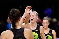 Pulse' Katrina Rore, ANZ Premiership - Pulse v Magic at TSB Bank Arena, Wellington, New Zealand on Sunday 21 April 2019. <br /> Photo by Masanori Udagawa. <br /> www.photowellington.photoshelter.com